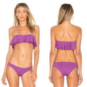 New L Space Sandy Bikini Bottom Orchid Size Small